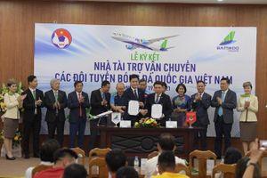 Đội tuyển Việt Nam sẽ tới UAE bằng 'chuyên cơ'