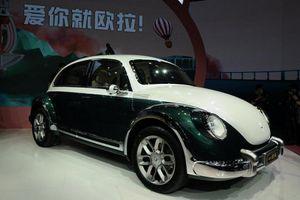 Ora Punk Cat - xe điện 'con mèo' Trung Quốc nhái con bọ Volkswagen Beetle
