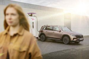 Xe sang Mercedes-Benz EQB chạy điện lăn bánh hơn 400 km/lần sạc