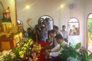 Long trọng Lễ giỗ Tổ Hùng vương tại Cà Mau