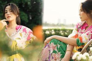 Hoa hậu Kỳ Duyên hóa nàng thơ xinh đẹp, quyến rũ