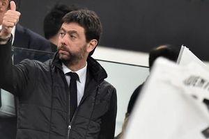 Ông trùm Juventus thừa nhận Super League 'không thể tiếp tục'