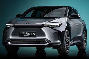 Toyota bZ4X Concept ra mắt - RAV4 phiên bản điện