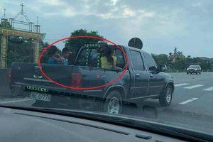 Chủ xe bán tải chở 3 cháu bé ngồi thùng sau phóng như bay trên quốc lộ ở Hà Tĩnh từng vi phạm pháp luật