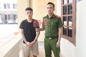 Bắt siêu đạo chích thực hiện liên tiếp 8 vụ trộm ở Hà Tĩnh