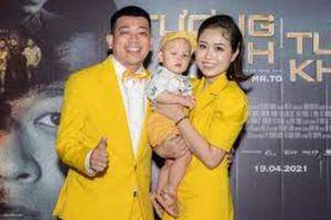 Diễn viên Thanh Tân hạnh phúc khoe vợ đẹp và con trai 1 tuổi