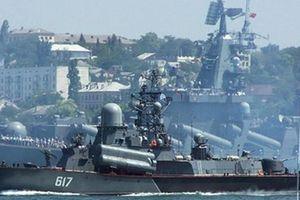20 tàu chiến, hàng chục máy bay Nga tập trận quy mô lớn ở Biển Đen