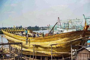 Nỗi niềm của làng nghề đóng tàu 700 năm tuổi ở Nghệ An