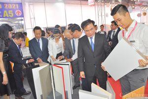 Gần 900 gian hàng tham gia Triển lãm quốc tế Vietbuild TP. Hồ Chí Minh