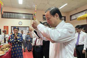 TP. Vũng Tàu tổ chức trang trọng Lễ Giỗ Tổ Hùng Vương