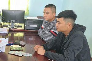 Bắt quả tang 2 thanh niên từ Thanh Hóa vào Kiên Giang cho vay tín dụng đen