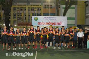 Giải bóng rổ các câu lạc bộ tỉnh Đồng Nai mở rộng năm 2021: Trường song ngữ Á Châu, AON vô địch