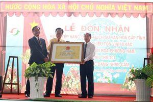 Khu du lịch Văn hóa Phương Nam đón nhận Bằng xếp hạng Di tích lịch sử - văn hóa cấp tỉnh