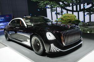 Hongqi ra mắt mẫu xe concept hạng sang không cần vô lăng tại Triển lãm ô tô Thượng Hải