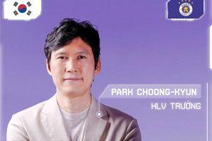 Hà Nội FC bổ nhiệm ông Park Choong-kyun vào cương vị huấn luyện viên trưởng