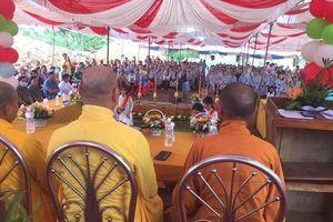 Bình Phước: Động thổ khởi công xây dựng ngôi chánh điện chùa Thanh An