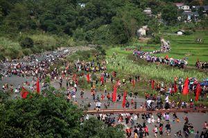 Sôi động lễ hội Then Kin Pang bên dòng Nậm Lụm