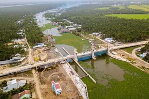 Hạn mặn tại các cửa sông vùng Đồng bằng sông Cửu Long đã giảm