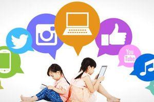 Thế giới của trẻ em thời đại bùng nổ công nghệ