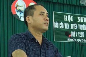 Bí thư đảng ủy phường ở Khánh Hòa vừa bị đâm chết là ai?