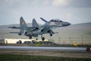 Hé lộ nguyên nhân gặp nạn đầy bất ngờ của tiêm kích Su-30SM Kazakhstan