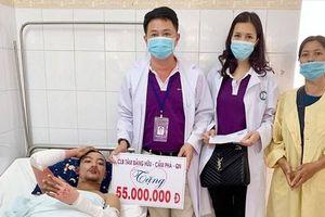 Quảng Ninh: Hỗ trợ hơn 58 triệu cho 3 người bị bỏng do nổ khí gas trên tàu