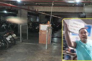 Nhân viên nhà giữ xe KTX Khu B ĐHQG dọa giết sinh viên
