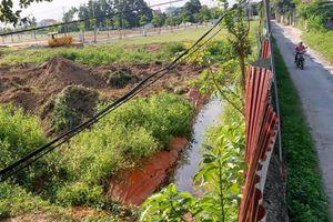 Công nhân choáng, xỉu: Kiểm tra tồn dư hóa chất ở khu đô thị
