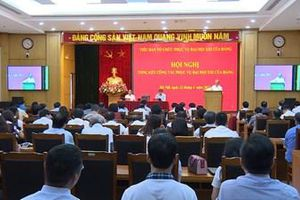 Đổi mới, sáng tạo hoàn thành tốt nhiệm vụ Tiểu ban tổ chức phục vụ Đại hội XIII của Đảng