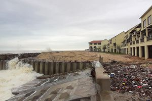 Quảng Nam chi 145 tỷ làm gần 2 km bờ kè ở Cửa Đại