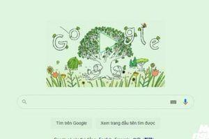 Google Doodle 22/4: Ngày Trái đất (Earth Day) 2021