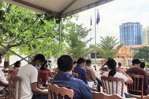 Campuchia cho phép y tế tư nhân sử dụng thiết bị xét nghiệm kháng nguyên nhanh Covid-19