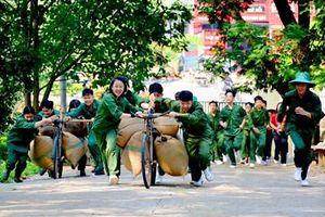 Trải nghiệm 'Chúng em làm chiến sĩ Điện Biên'