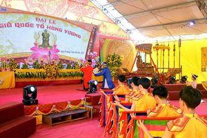 Đại lễ Giỗ Quốc tổ Hùng Vương tại Khu di tích lịch sử văn hóa Đại Hùng