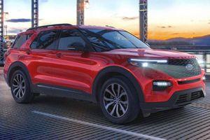 Xe SUV Ford Explorer 2021 mới có thêm biến thể giá rẻ