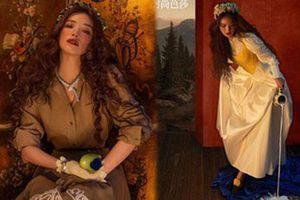 Thư Kỳ 45 tuổi vẫn xinh đẹp như công chúa bước ra từ truyện cổ tích