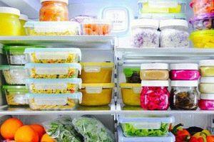 Sai lầm tránh mắc phải khi chế biến và bảo quản thức ăn mùa nóng