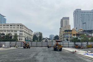 TP HCM: Đường Lê Lợi được trả lại mặt bằng sau 7 năm rào chắn