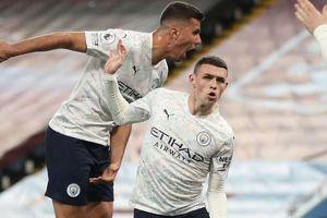 Man City lội ngược dòng trước Aston Villa, nâng cách biệt với MU lên 11 điểm