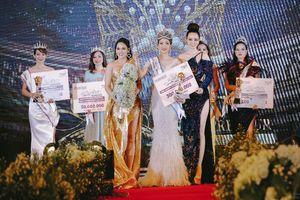 Diễn viên - Đạo diễn Mai Thu Huyền ngồi ghế nóng Gala trao giải Hoa hậu Doanh nhân Toàn năng Châu Á 2021