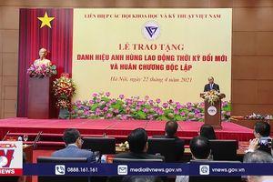 Chủ tịch nước trao các danh hiệu cao quý tặng một số các nhà khoa học xuất sắc của Việt Nam