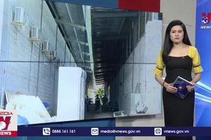 Cưỡng chế tháo dỡ 7 cửa hàng xây dựng trái phép chuyên đón khách Trung Quốc