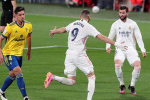 Thắng Cadiz dễ dàng, Real Madrid trở lại ngôi đầu La Liga