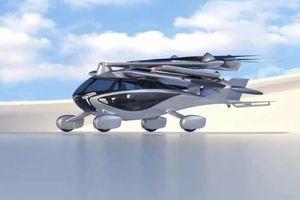 Cận cảnh xe bay tốc độ 240 km/h có thể gấp gọn 6 cánh