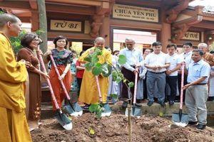 Hà Nội trồng cây Bồ Đề gắn bó tình hữu nghị Việt Nam - Ấn Độ