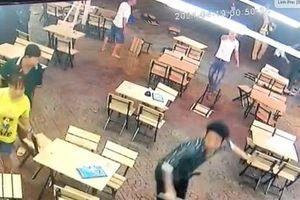 CSGT nổ súng chỉ thiên ngăn nhóm thanh niên hỗn chiến trong quán nhậu