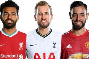 Cuộc đua vua phá lưới Ngoại hạng Anh: Cờ đến tay Fernandes và Salah