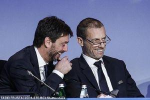 Chủ tịch UEFA chỉ trích lãnh đạo Man Utd, Juventus dối trá