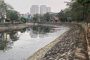 Hành lang an toàn sông Kim Ngưu xuống cấp nghiêm trọng