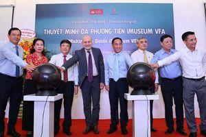 Ứng dụng Thuyết minh đa phương tiện với 8 ngôn ngữ của Bảo tàng Mỹ thuật Việt Nam